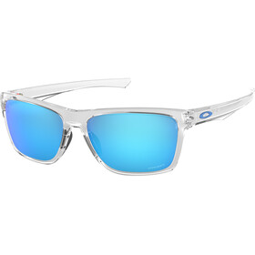 Oakley Holston Sunglasses Polished Clear/Prizm Sapphire
